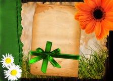 весна приветствию карточки Стоковое фото RF