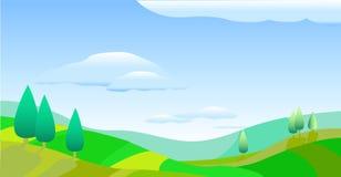 весна природы дня симпатичная иллюстрация штока
