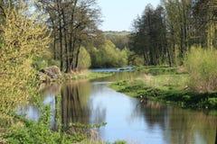 весна реки Стоковые Изображения RF