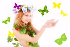 весна руки Стоковая Фотография RF