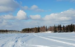 весна Скандинавии Стоковые Фотографии RF