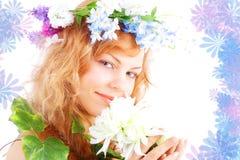 весна усмешки Стоковое Изображение