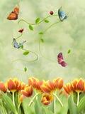 весна фантазии иллюстрация вектора