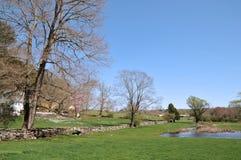 весна фермы дня Стоковое Изображение RF