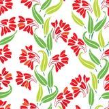 весна флористического орнамента Стоковые Фотографии RF
