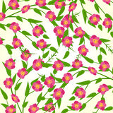 Весна цветет иллюстрация вектора Стоковые Изображения