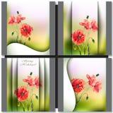 Весна цветет карточка приглашения Стоковое Фото