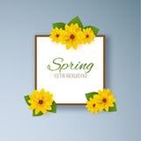 Весна цветет предпосылка вектора EPS10 иллюстрация вектора
