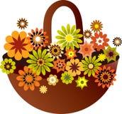 весна цветка корзины Стоковое Фото