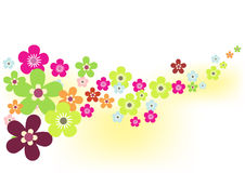 весна цветка предпосылки Стоковая Фотография RF