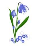 весна цветка Иллюстрация штока