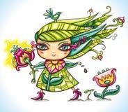 весна девушки Стоковые Изображения RF