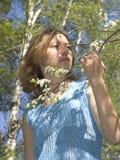 весна девушки Стоковое Изображение RF