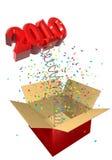 весна 2010 подарка иллюстрация вектора