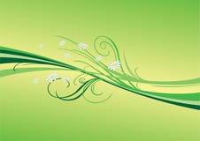 весна flourish иллюстрация вектора