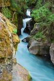весна gorge лавины Стоковые Изображения RF