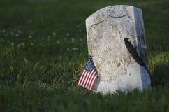 весна gravestone Стоковое Изображение