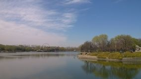 Весна longtan озера Стоковое фото RF