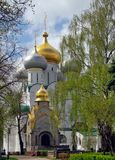весна novodevichij moscow monastyr Стоковое Изображение