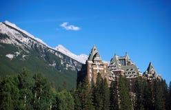 весны гостиницы banff Стоковое фото RF