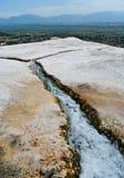 весны pamukkale стоковая фотография