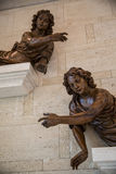 Вестибюль pavie замка, emilion Святого, правый берег, Бордо, Франция Стоковые Фото