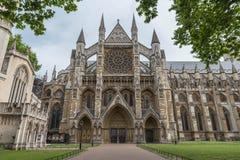 Вестминстерское Аббатство в Лондоне Стоковые Изображения