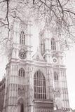 Вестминстерское Аббатство, Лондон; Англия; Великобритания Стоковые Фото