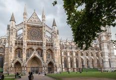 Вестминстерское Аббатство Лондон Англия Стоковое Изображение RF
