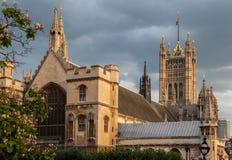 Вестминстерское Аббатство Лондон Англия Стоковое фото RF