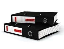 весточка архивохранилища черная Стоковое Изображение RF
