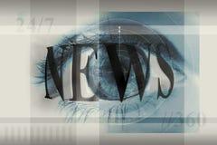 весточка глаза Стоковые Фото