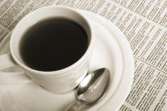 весточка кофейной чашки дела Стоковое фото RF