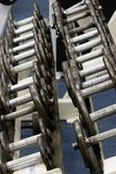 весы гимнастики пригодности Стоковое фото RF