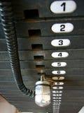 весы номеров строителя тела фикчированные Стоковое Изображение