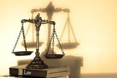 Весы правосудия стоковые изображения rf