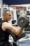 весы тренировки гимнастики пригодности Стоковые Изображения