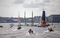 Весьма залив 2012 Cardiff серии Sailing Стоковые Фото