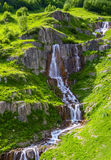 Весьма красивый быстрый водопад Стоковое фото RF