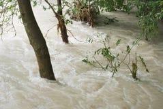 Весьма погода и flooding Стоковые Фото