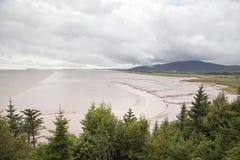 Весьма приливы в Канаде стоковые изображения