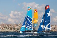 весьма серия sailing Стоковая Фотография