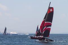 весьма серия sailing Стоковое Изображение