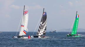 весьма серия sailing Стоковая Фотография RF