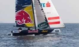 весьма серия sailing Стоковые Фото