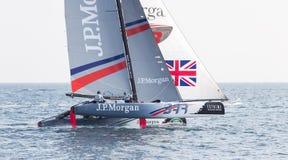 весьма серия sailing Стоковые Фотографии RF
