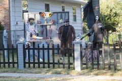 Весьма хеллоуин украшая Стоковое Изображение