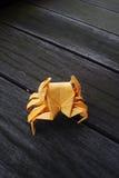 Весьма origami - рак Стоковая Фотография RF