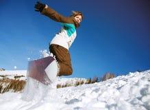 весьма snowboarder Стоковое Изображение RF