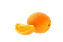 Весь апельсин и одн Стоковые Изображения RF